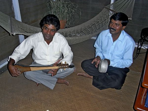 assam tea estate workers perform krishna devotional song